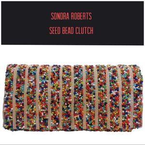 SR Fabulous Seed Bead Clutch(Chain incl.) NWT